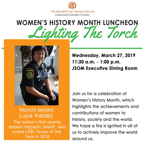 Women's History Month Luncheon Admission